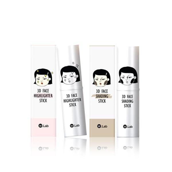堯蘭達  - 愛用彩妝推薦  無敵3D立體小臉修容組