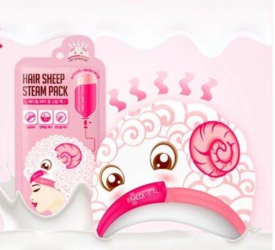 【沙龍級滋養蒸氣護髮帽】~全新山羊乳成分 跟鋼絲頭說掰掰 一盒五片裝★店長推薦★