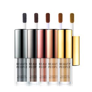 BEAUTYPEOPLE多功能5色染眉粉─化妝品界的創新!神奇液態眉粉讓修飾更自然