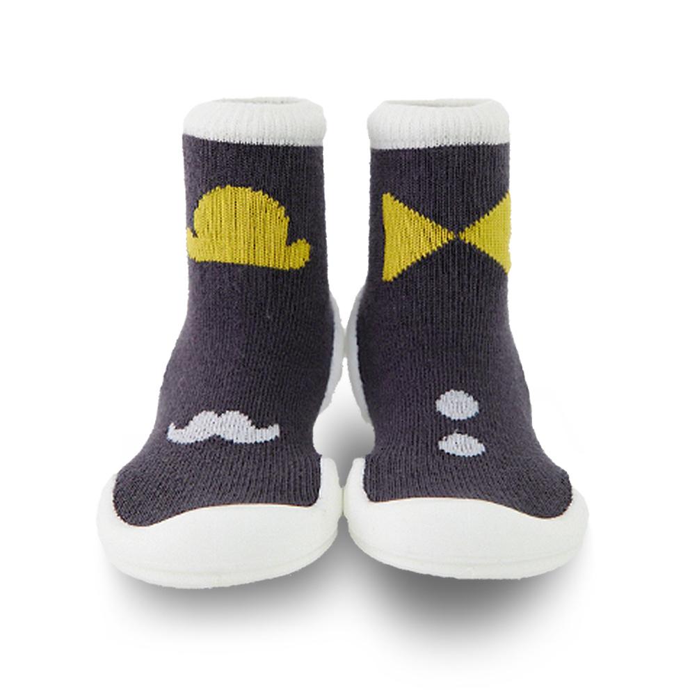 Baby著用襪子鞋鞋【紳士寶貝(長筒)】是襪子也是鞋子