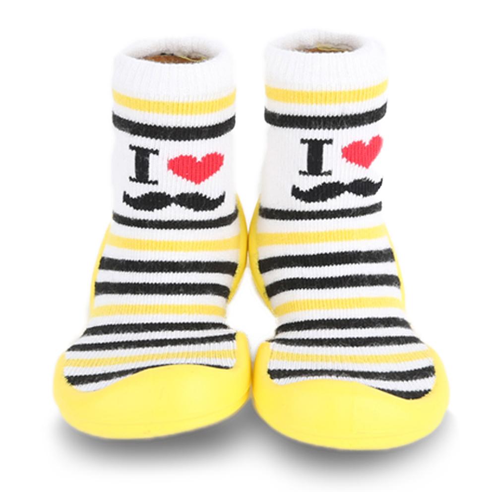 Baby著用襪子鞋鞋【最愛爸拔(長筒)】是襪子也是鞋子