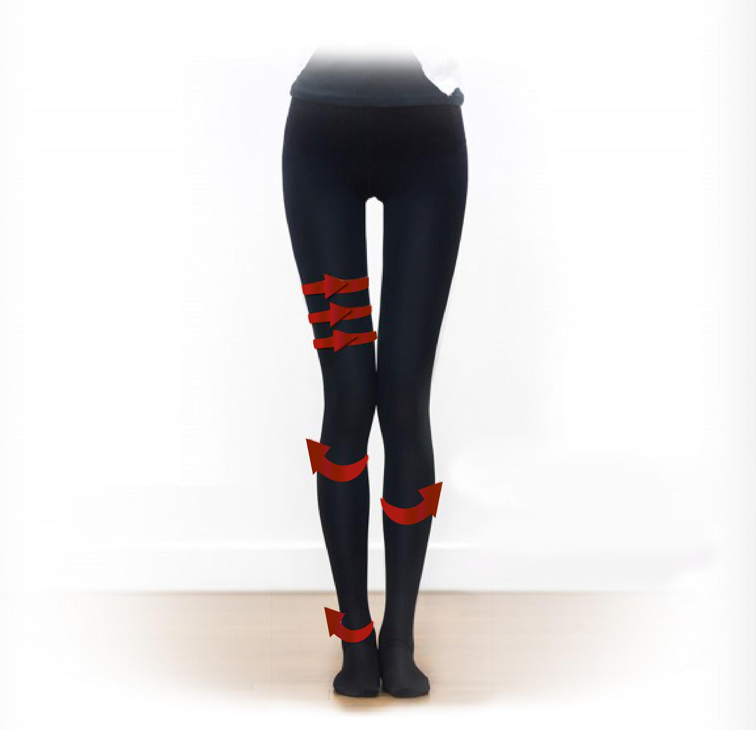 salua韓國專利鍺石魔塑褲★雕塑你的身型