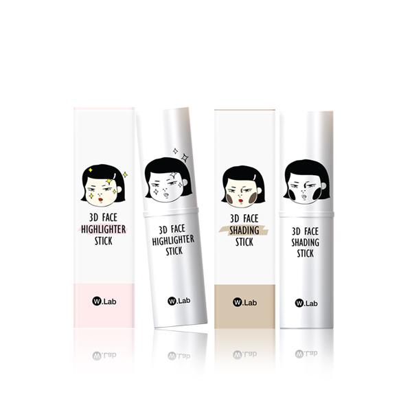 沙拉 - 愛用彩妝推薦 無敵3D立體小臉修容組